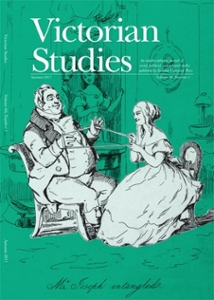 Victorian Studies journal front cover